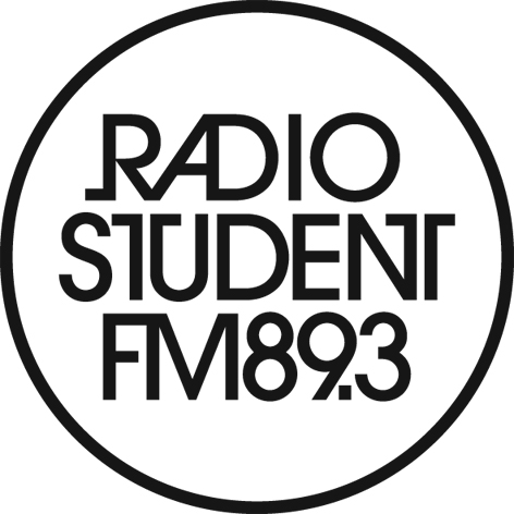 Radio Študent logo